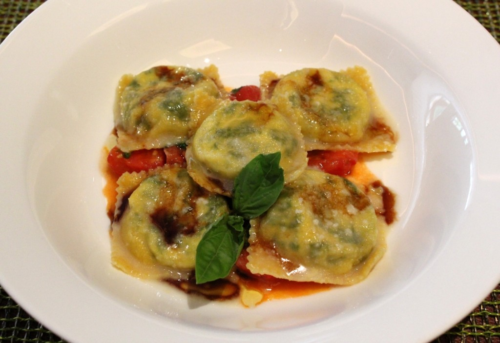 Ricotta and Spinach Ravioli | London Dining Reviews